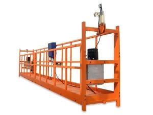 高空作业建筑电动吊篮如何保养和存放?